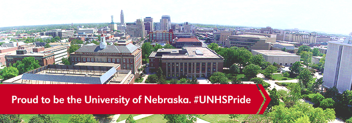 Proud to be the University of Nebraska