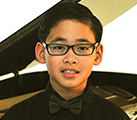 Hansel, 12 year old pianist